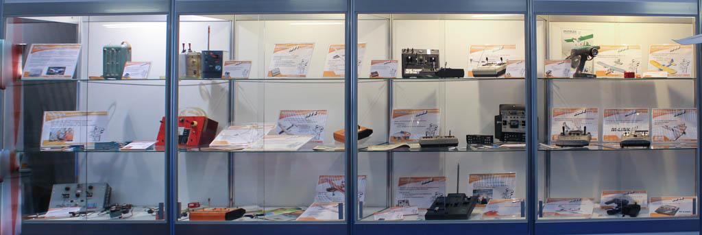 Ausstellung von historischen Multiplex Sendern