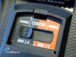 DX6e Mode Umschalter