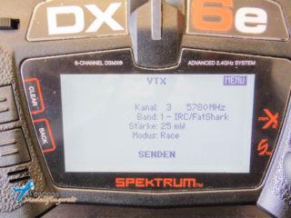 FPV Racer werden sich über die VTX Integration freuen