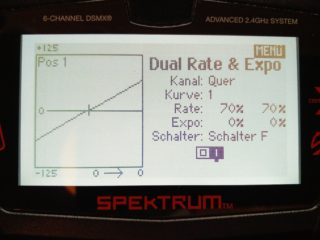 DX6e Dual Rate