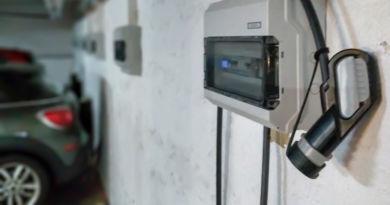Tiefgaragen Plätze für Elektro Autos in der Braunschweiger Innenstadt