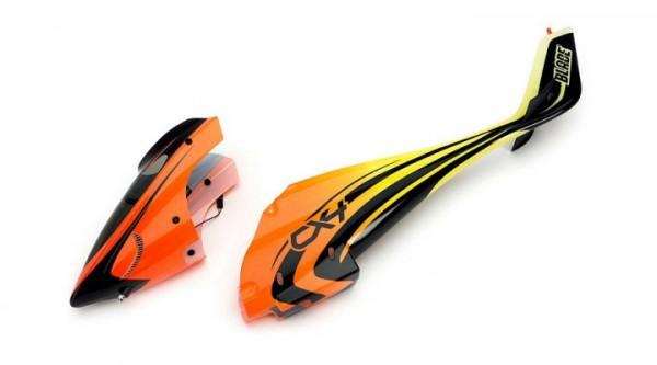 Rumpf mit ösen und LED Orange / Gelb CX4