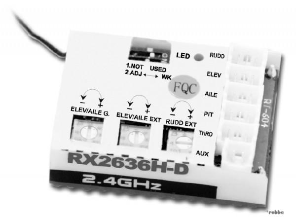 Empfänger S-FHSS CP120