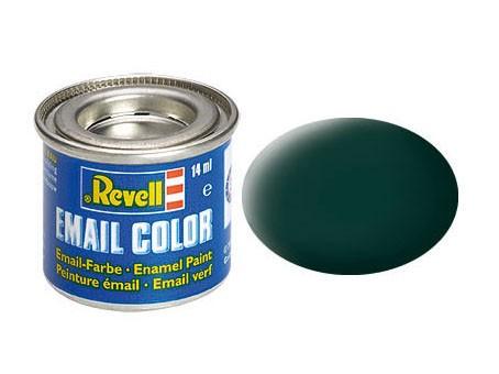 Revell Farbe Emaille schwarzgrün, matt 40