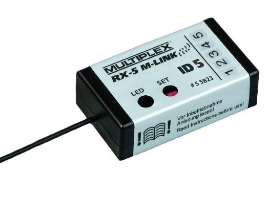 Empfänger RX-5 SMART ID 5 Razzor