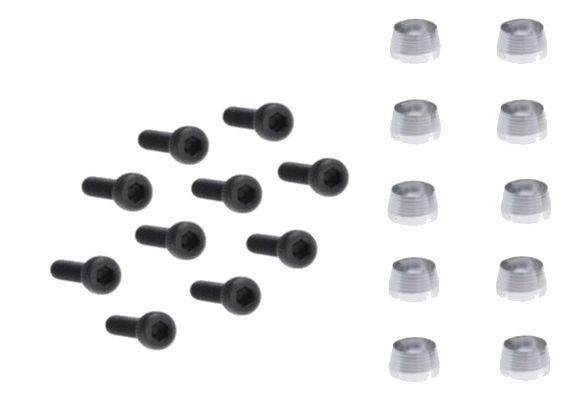 Schrauben für Servobefestigung M2,5x12