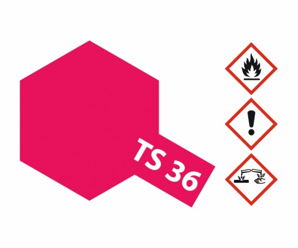 TS-36 Neon-Rot glänzend 100ml