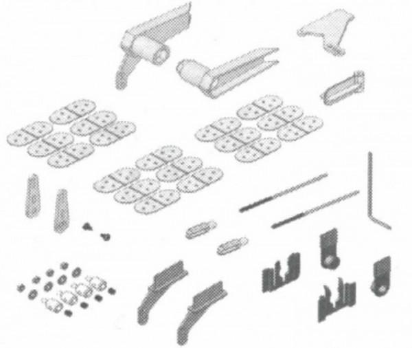 Kleinteilesatz Acro Master, Multiplex