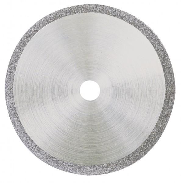 Diamantierte Trennscheibe, 38 mm + 1 Träger