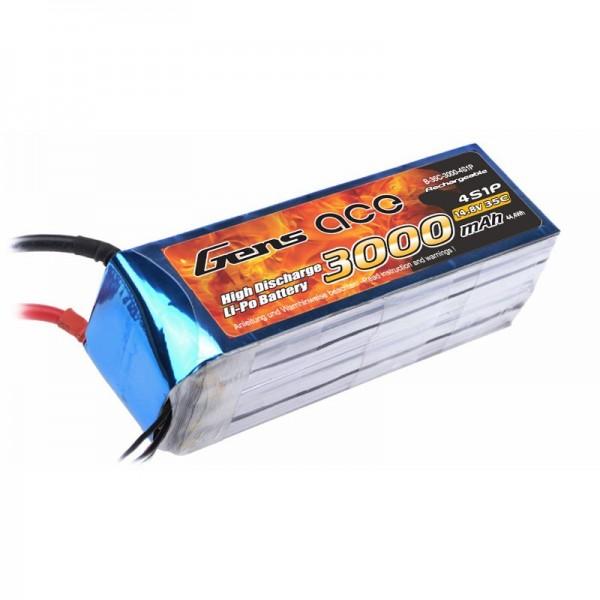 Gens ace 4S 3000mAh (Deans) 40C