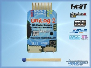UniLog 2 mit Speicherkarte und Kartenleser
