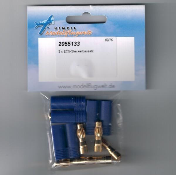 EC5 3 Stk Stecker (Reglerseitig)