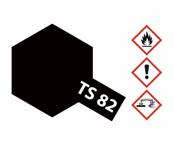TS-82 Gummi-Schwarz matt 100ml