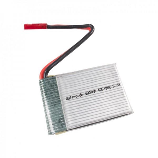 Lipo 480mAh 3,7V 40C/80C