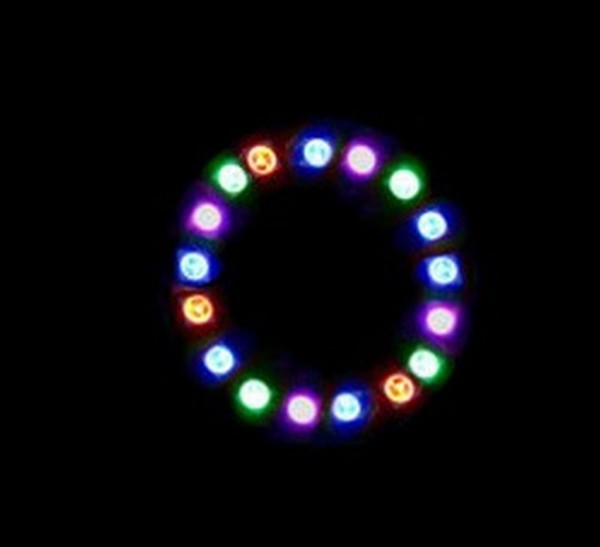Magic-LED 24-LED RGB Ring