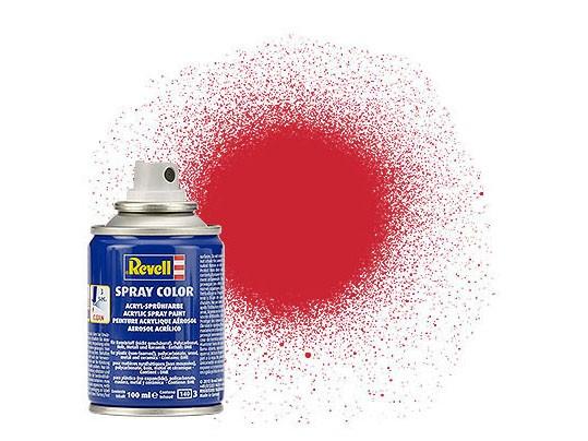 Spray feuerrot, seidenmatt
