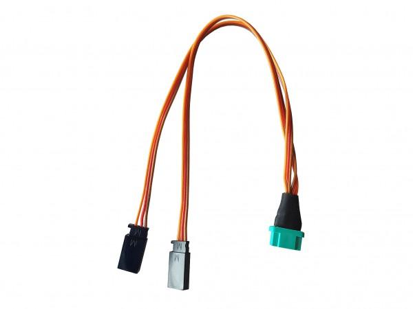 Flächenverbindung (Tragfläche), 25 cm, PVC