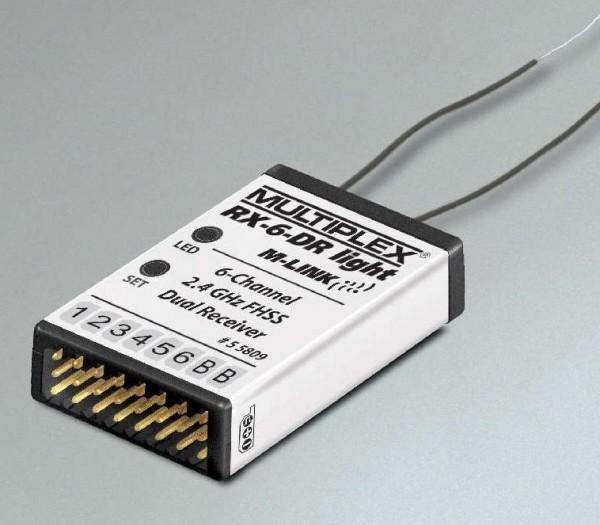 Empfänger RX-6-DR light M-LINK 2,4 GHz, Multiplex