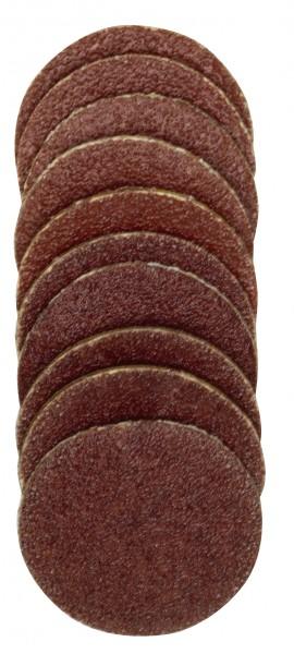 Ersatzschleifscheiben, 18 mm für Gummiteller