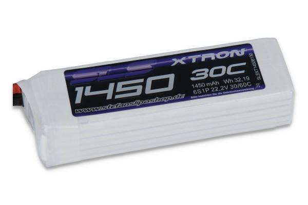 SLS XTRON 1450MAH 6S1P 22,2V 30C/60C