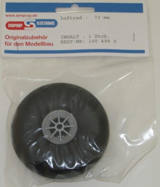 Luftrad m. Nylonfelge 73mm