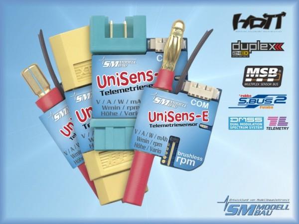 UniSens-E mit 5,5 mm Goldstecker