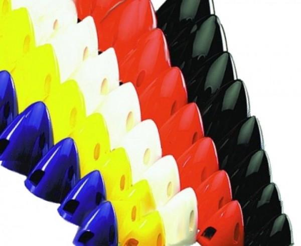 Spinner Nylon 65 mm weiß 2-Blatt