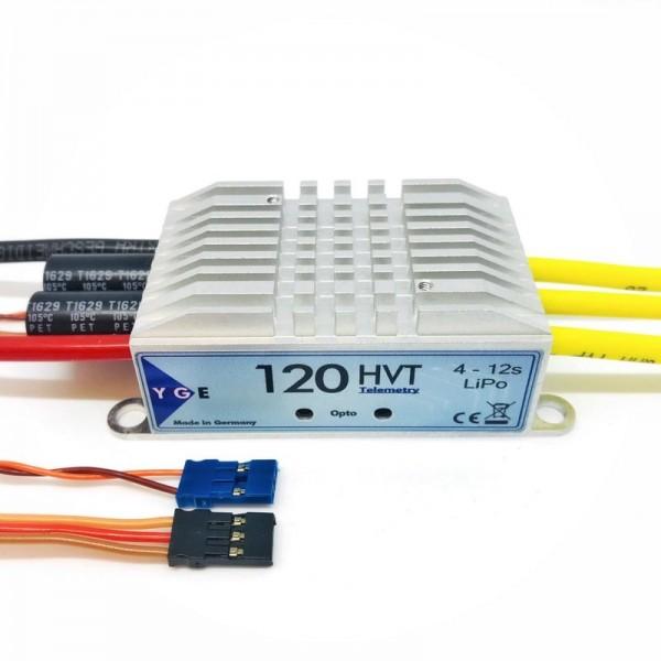 Brushless-Regler YGE 120 HVT Opto mit Telemetrie