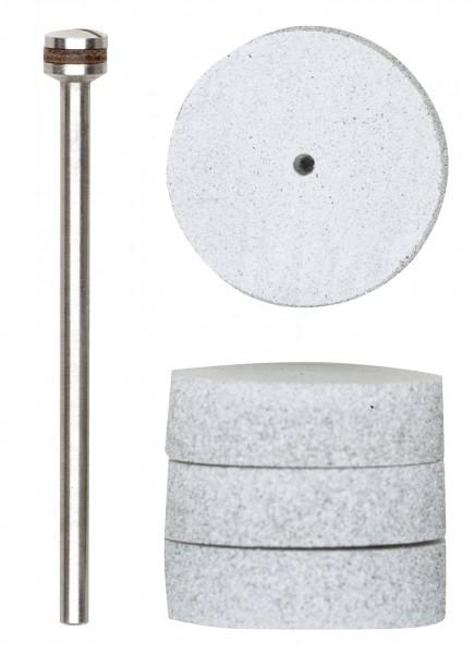 Spezial-Polierscheiben, 22 mm, 4x mit Träger