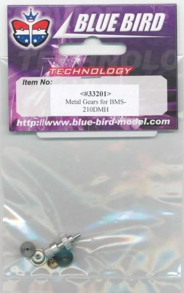 Zahnradsatz BMS-210DMH und Hempel 1204