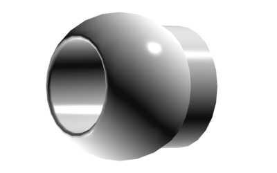 Kugel Ï4,8 mit 3mm Bohrung