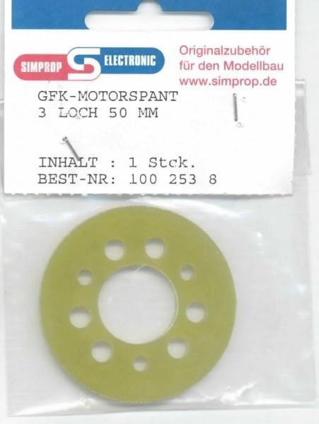 GFK Motorspant MS 3 Loch 50mm