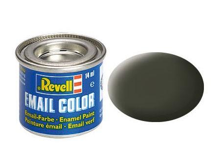 Revell Farbe Emaille gelb-oliv, matt 42