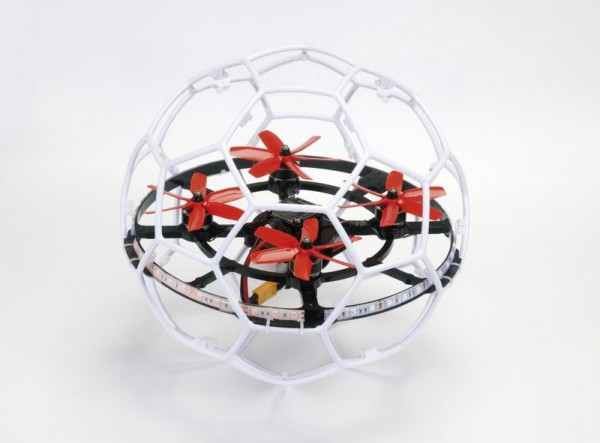 SWEEPER Kit RTF Droneball weiß