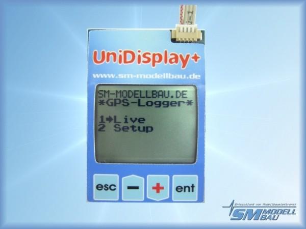 UniDisplay+ komplett mit Anschlusskabel
