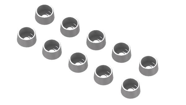 Alu-Schraubenhalter für Sechskant M2,5
