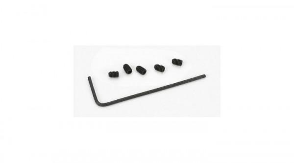 Ritzelschraube mit Schlüssel (5): Mini Vehicles