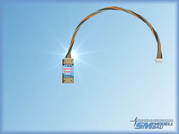 UniSens-E UniLog 2 und GPS-Logger Spektrum-Adapter