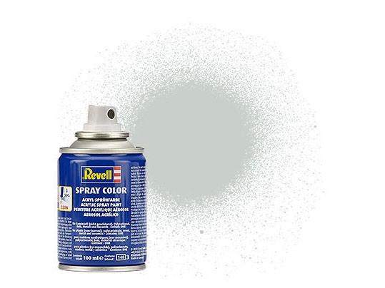 Spray hellgrau, seidenmatt