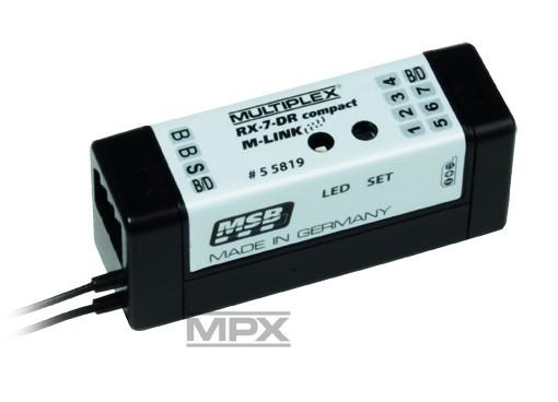 Empfänger RX-7-DR compact M-LINK 2,4 GHz