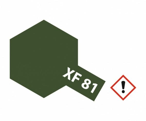 XF-81 Dunkel Grün 2 RAF matt 10 ml