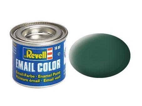 Revell Farbe Emaille dunkelgrün, matt 39