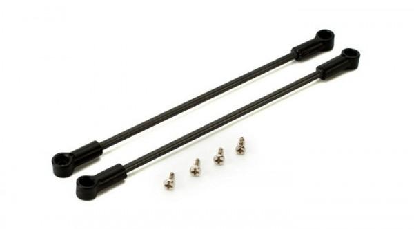 Blade 130X: Heckrohrhalter / Stütze