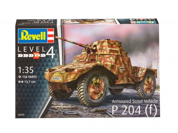 Armoured Scout Vehicle P204(f