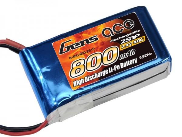 Gens ace 2S 800mAh (BEC) 40C