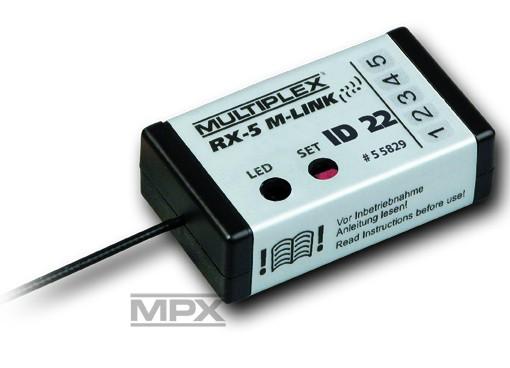 Empfänger RX-5 SMART ID 22