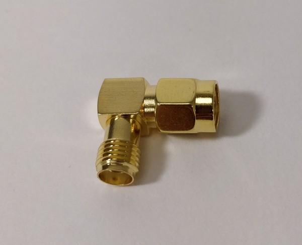 Winkel-Adapter 90° SMA-Stecker auf SMA-Buchse