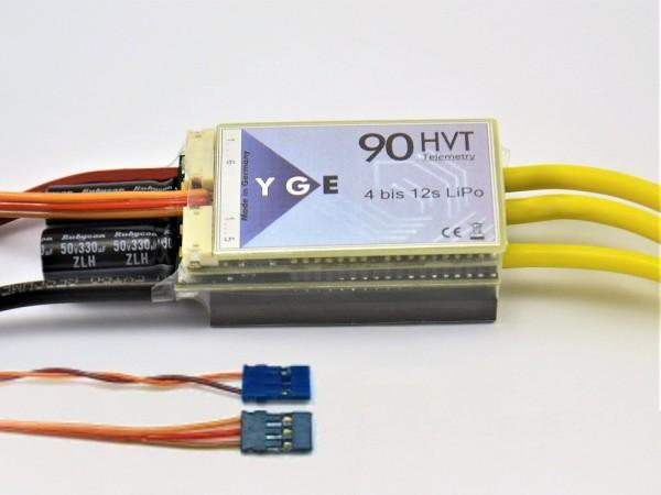 Brushless-Regler YGE 90 HVT Opto mit Telemetrie