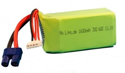 mylipo 3S 1600mAh (EC3) 30C/60C