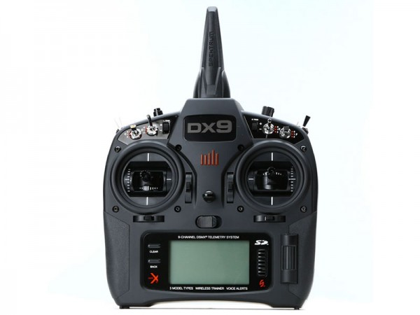 Spektrum DX9 Black Edition Solosender